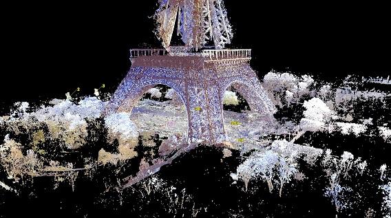Grand site tour Eiffel : la tour Eiffel en BIM
