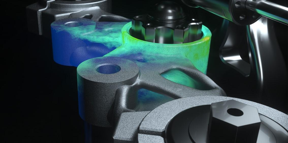 MJK tripple clamp designed with generative design | Autodesk